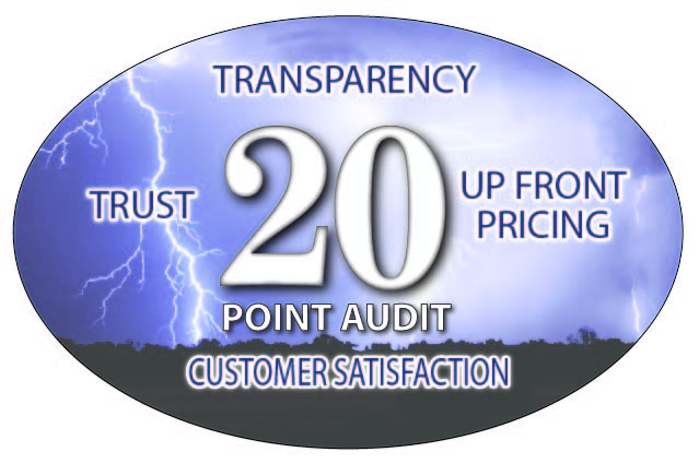 20 Point Audit logo